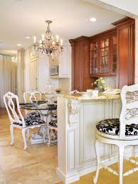 kidkraft island kitchen photos hgtv french country kitchen with dazzling chandelier