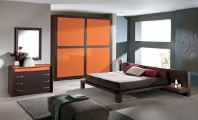 Masculine Bedroom Ideas Gray Walls Bedroom With Orange Accent Wall Design Ideas Paint Colors Cute