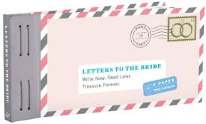 letters to the bride how to make a letters to the bride book