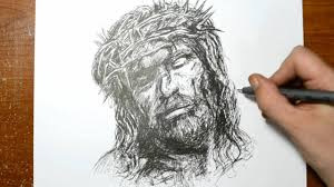 drawing the son of god quick sketch of jesus youtube