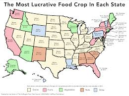 Map Of The United States With States by 2 Simple Maps That Reveal How American Agriculture Actually Works