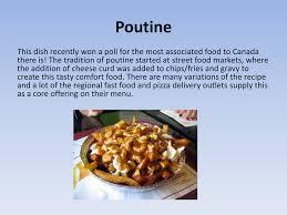 cuisine canada traditional canadian food
