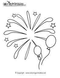 firework coloring pages u2013 barriee