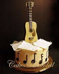 guitar cake topper guitar cake cake guitars and cake designs
