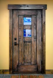 Wood Exterior Door Wood Exterior Doors Exterior Eclectic With Custom Exterior Door