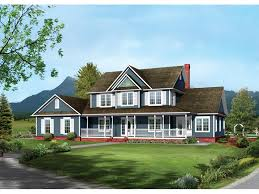 two story house plans with front porch bennington country farmhouse plan 068d 0016 house plans and more