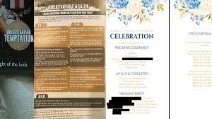 wedding program vistaprint andrew stephen news breaking headlines and top stories