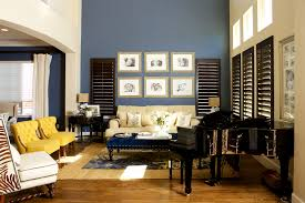 brown blue and yellow living room ideas roselawnlutheran nurani