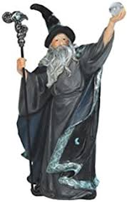 amazon com stealstreet ss g 71367 wizard casting spell with small