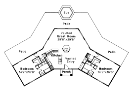 octagon home plans two master suite house plans at coolhouseplans com