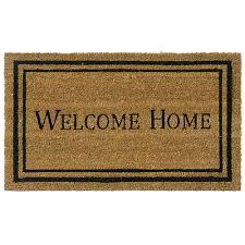 rubber cal contemporary welcome home 24 in x 57 in door mat 10