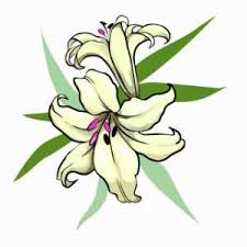 stunning yellow lily flower tattoo design photos pictures and