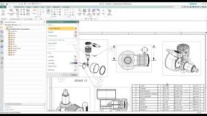 siemens nx 10 0 parts list and auto balloon exercise youtube