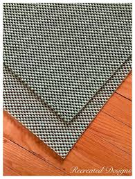 Non Slip Rug Pads For Laminate Floors Rug Pad Review For Rug Pad Corner Recreated Designs