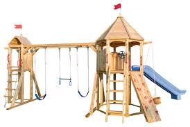 cedar playsets with backyard swing set jungle gym outdoor play