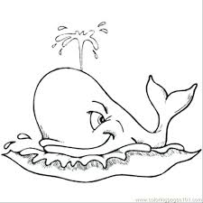 Whale Coloring Pages Spouting Whale Coloring Page Whale Coloring Whale Color Page