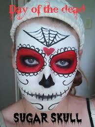 best halloween makeup to use day of the dead halloween makeup look u2013 sammy u0027s beauty
