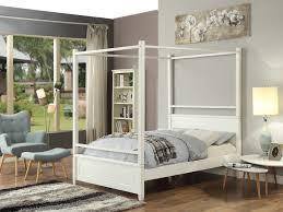 letto baldacchino letto a baldacchino guerande 140 x 190 cm letto