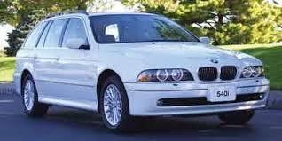 bmw 5 series mileage used 2003 bmw 5 series wagon 4d 540i mileage options nadaguides