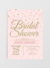blush pink u0026 gold glitter bridal shower invitations u2013 nella designs