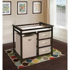 Espresso Changing Table Espresso Modern Changing Table Free Shipping Today Overstock