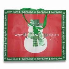 christmas shopping bags wholesale christmas shopping bag made of 128g paper measures
