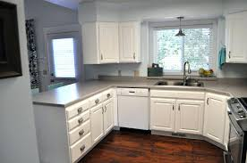 from oak kitchen cabinets to painted white cabinetsrefinish
