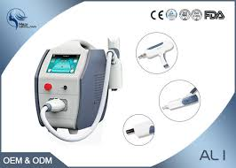 portable laser tattoo removal equipment nd yag q switched laser