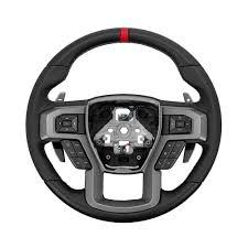 Ford Raptor White - ford hl3z 3600 ca f 150 steering wheel raptor leather heated 2015 2018