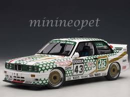 bmw e30 model car bmw m3 dtm 1991 tic tac berg 43 aa89147 1 18 autoart mmc ebay