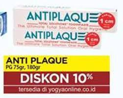 Pasta Gigi Antiplaque promo harga antiplaque pasta gigi terbaru minggu ini hemat id
