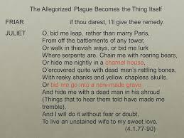bid me friar if thou darest i ll give thee remedy juliet o bid me leap