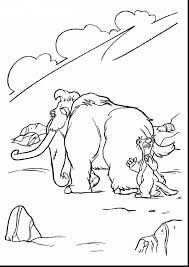 ice age coloring pages coloringsuite com