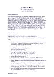Front Desk Clerk Resume Examples Sample Resume General Office Work