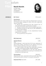 english cv format resume and cv samples cv template example1 jobsxs com