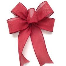 decorative bows christmas burlap and plaid decorative bows set of 6 christmas