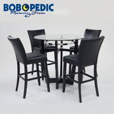 bobs furniture round dining table matrix 7 piece dining set room sets bob s discount inside bobs