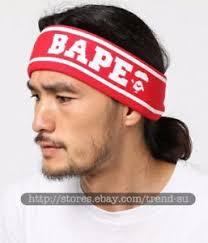headband sport a bathing ape bape sport headband hairband elastic free size