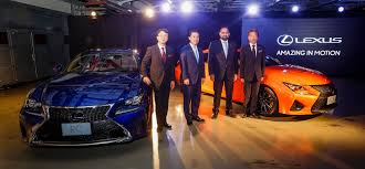 lexus car price in uae biser3a all new lexus rc and rc f make uae debut biser3a