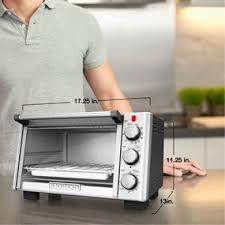 Built In Toasters 6 Slice Toaster Oven Black Decker