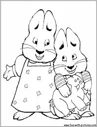 max and ruby coloring pages to print aecost net aecost net