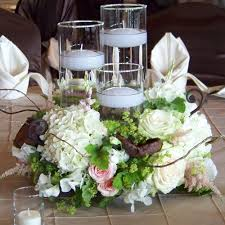 Wedding Centerpieces Floating Candles And Flowers by Sarah And Chris U0027 Wedding In Freeland Michigan Scented Geranium