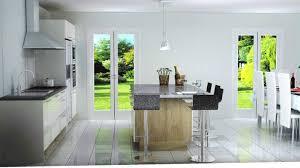 cuisinistes bordeaux cuisine grise et bordeaux 4 cuisine avec ilot central n233o blanc