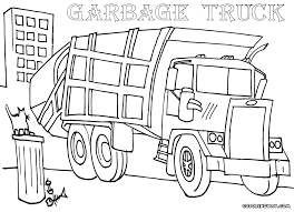 garbage truck coloring pages coloring pages download print