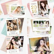 senior graduation announcement templates end the year in style senior graduation templates for photographers