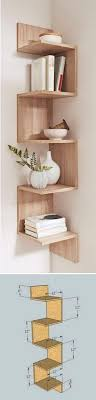 Corner Bookcase Ideas 20 Amazing Corner Shelves Ideas 7 Step Shelf Diy Home