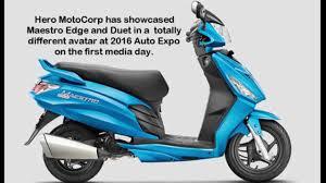 motorcorp new mestro edge hero motor corp youtube