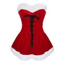 women christmas costume dress