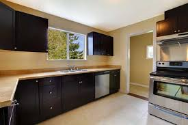 Black Kitchen Wall Cabinets Kitchen Wall Colors With Black Cabinets Zach Hooper Photo The