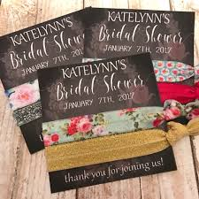 bridal shower hair tie favor gifts thank you gift bridal